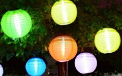 Outdoor Hanging Globe Lanterns