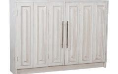3-drawer/2-door White Wash Sideboards