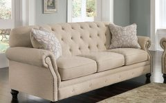 Ashley Tufted Sofa