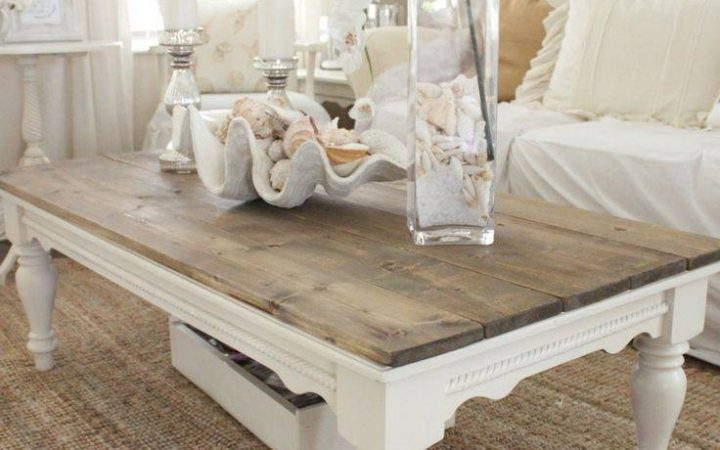 White Cottage Style Coffee Tables