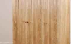 Oak 3 Door Wardrobes