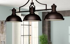Fredela 3-light Kitchen Island Pendants