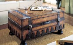 Old Trunks As Coffee Tables