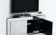 Silver Corner Tv Stands
