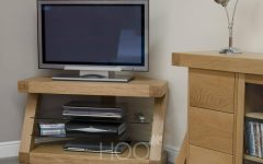 Small Oak Corner Tv Stands