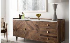 "Cora Rose 62.9"" Wide 3 Drawer Acacia Wood Sideboards"