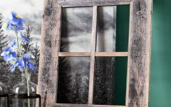 Old Rustic Barn Window Frame