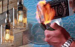 Liquor Bottle Pendant Lights