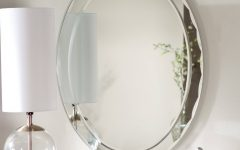 Bevelled Oval Mirrors