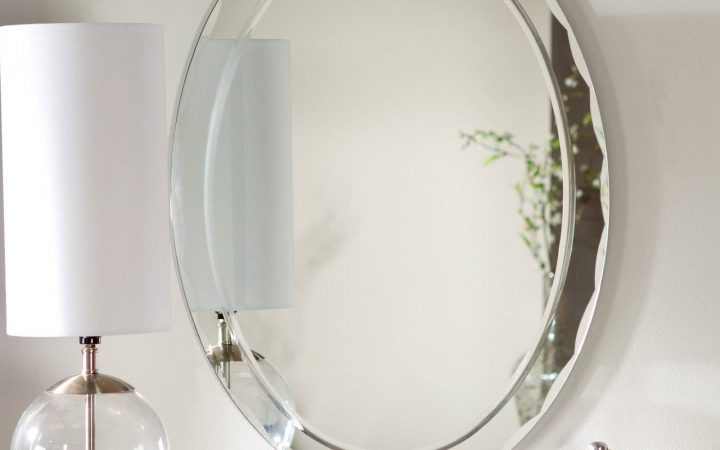 Oval Bevelled Mirrors