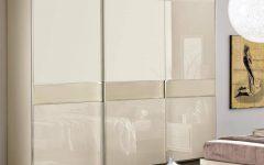 Cream Gloss Wardrobes