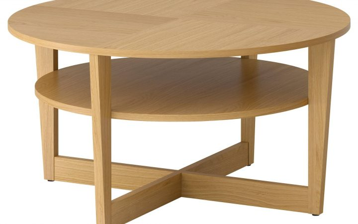 Oak Veneer Coffee Tables