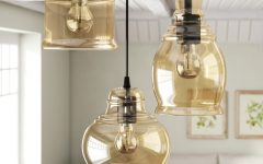 Vernice 3-light Cluster Bell Pendants