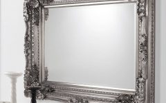 Silver Baroque Mirrors