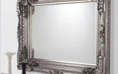 Silver Baroque Mirrors