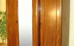 Mahogany Breakfront Wardrobe