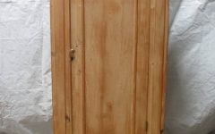 Single Door Pine Wardrobes