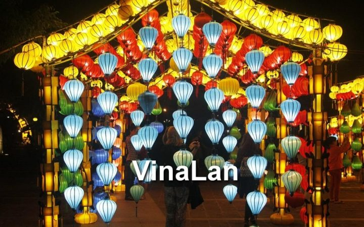 Outdoor Vietnamese Lanterns