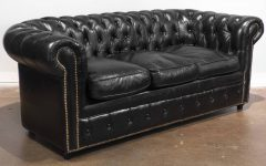 Chesterfield Black Sofas