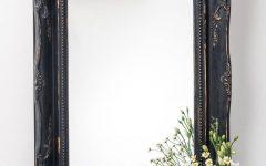 Black Vintage Mirrors