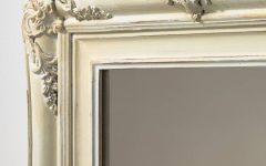 Antique Cream Mirrors
