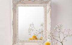Vintage White Mirrors
