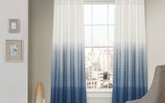 Ombre Embroidery Curtain Panels