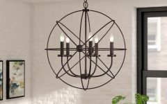 Waldron 5-Light Globe Chandeliers
