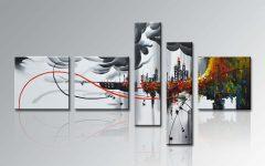 Modern Framed Wall Art Canvas