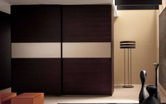 Dark Wood Wardrobe Doors