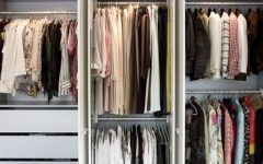 Double Clothes Rail Wardrobes
