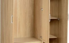 3 Door Wardrobe with Drawers and Shelves