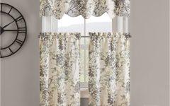 Waverly Kensington Bloom Window Tier Pairs