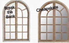 Window Arch Mirrors