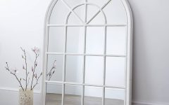 White Arch Mirrors