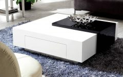 White High Gloss Coffee Tables