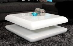 Round High Gloss Coffee Tables