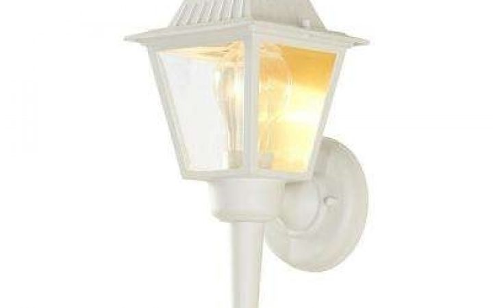 White Outdoor Wall Mounted Lighting