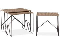 Scattered Geo Console Tables