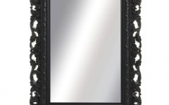 Ornate Black Mirrors