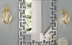 Caja Rectangle Glass Frame Wall Mirrors