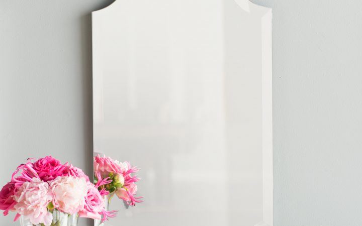Dariel Tall Arched Scalloped Wall Mirrors
