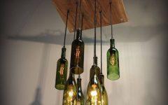Wine Bottle Ceiling Lights