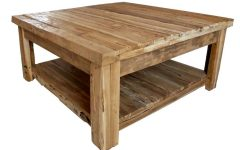 Rustic Wooden Coffee Tables