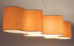 Wood Veneer Lighting Pendants
