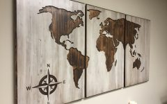 Map Wall Art