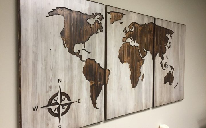 Cool Map Wall Art