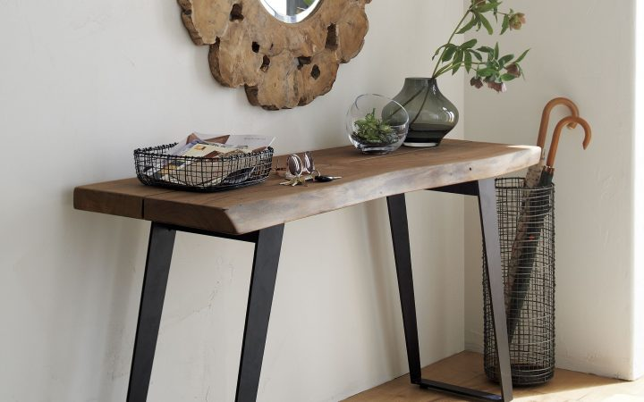 Yukon Natural Console Tables