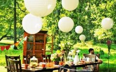 Outdoor Hanging Paper Lanterns